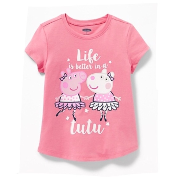 986f58a99ab NWT Peppa Pig Short Sleeve Top T Shirt